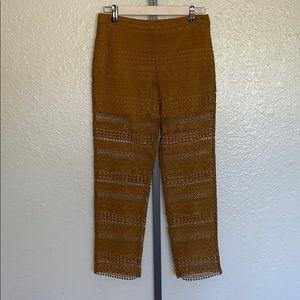 ZARA WOMAN lace pants